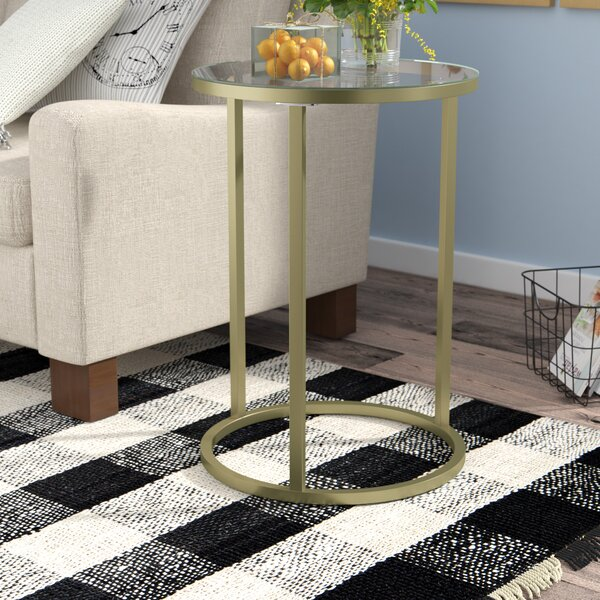 Haddon Heights Contemporary End Table by Gracie Oaks