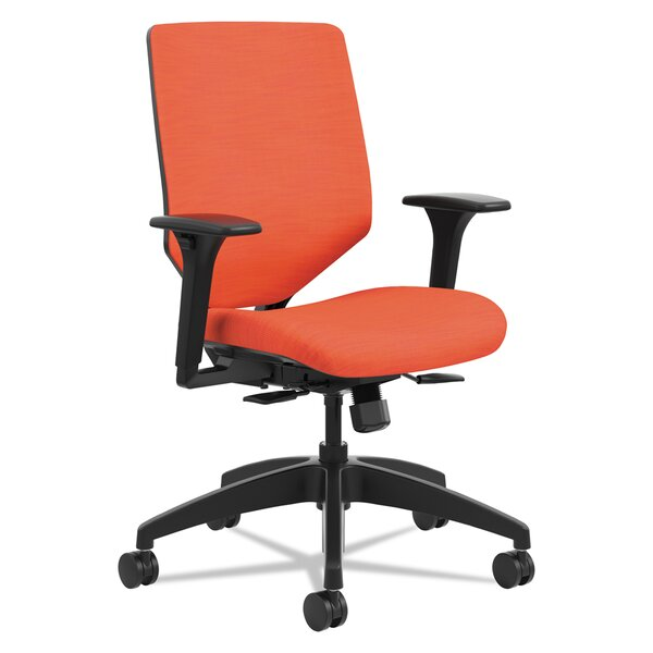 Upholstered High-Back Desk Chair by HON