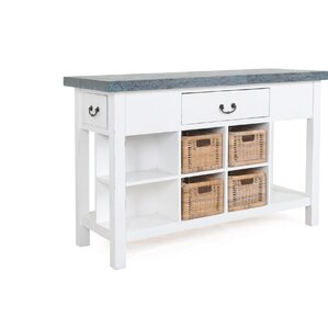 Island Falls Console Table by Breakwater Bay