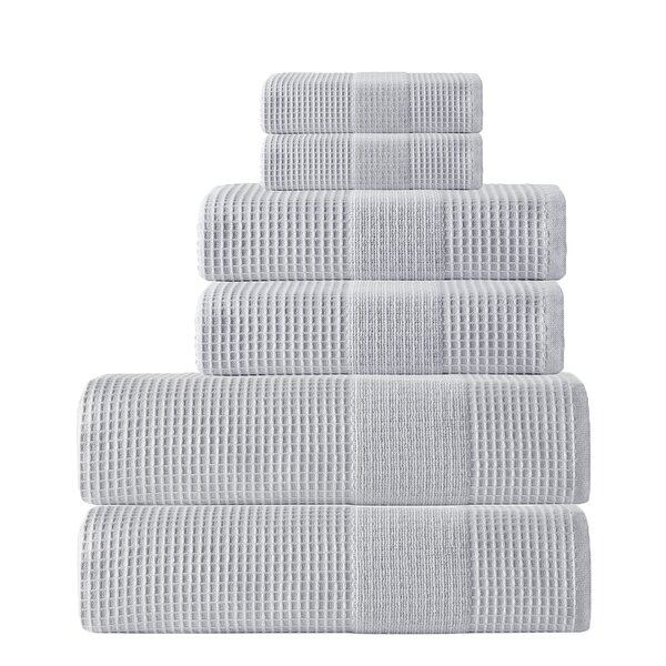 Ria 6 Piece Towel Set by Enchante Home