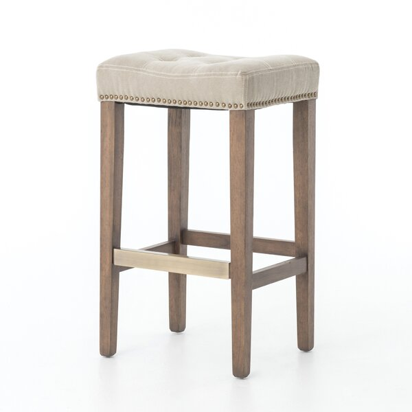 Jamie 30.25 Bar Stool with Cushion by Laurel Foundry Modern Farmhouse