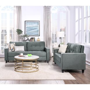 Orisfur. Sofa Set Morden Style Couch Furniture Upholstered Armchair, Loveseat And Three Seat For Home Or Office (2+3 Seat) by Latitude Run®