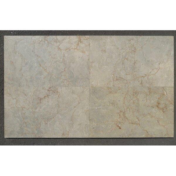 Sahara Gold Sandblasted & Brushed 18x30 Marble  Field Tile