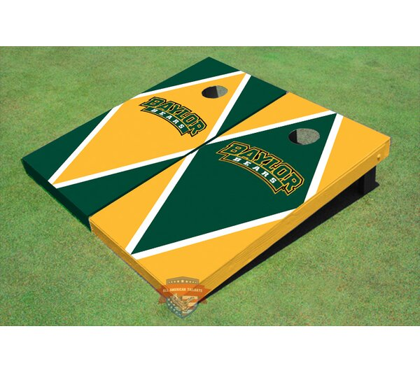 NCAA Alternating Diamond Cornhole Board (Set of 2) by All American Tailgate