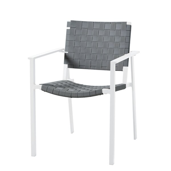 Ridgedale Stacking Patio Dining Chair (Set of 2) by Brayden Studio Brayden Studio