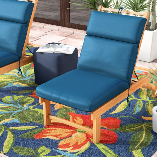 Indoor/Outdoor Sunbrella Chair Cushion by Highland Dunes