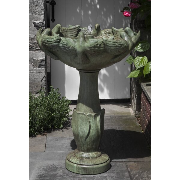Newport Concrete Dove Fountain by Campania International