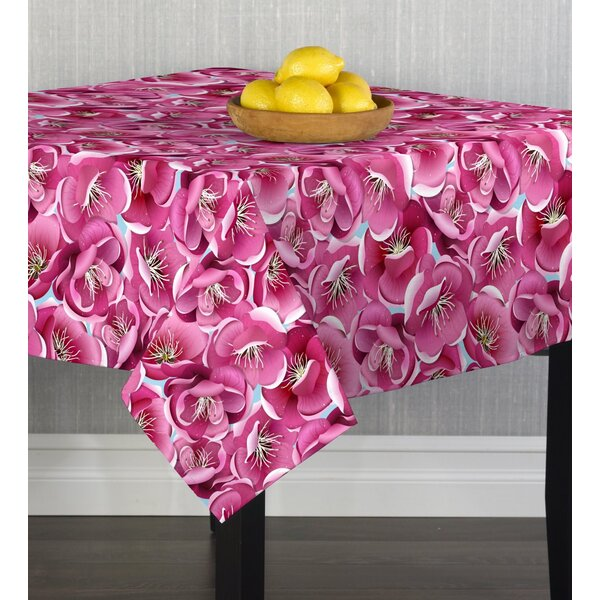 Maxton Blossoms Table Cloth by House of Hampton