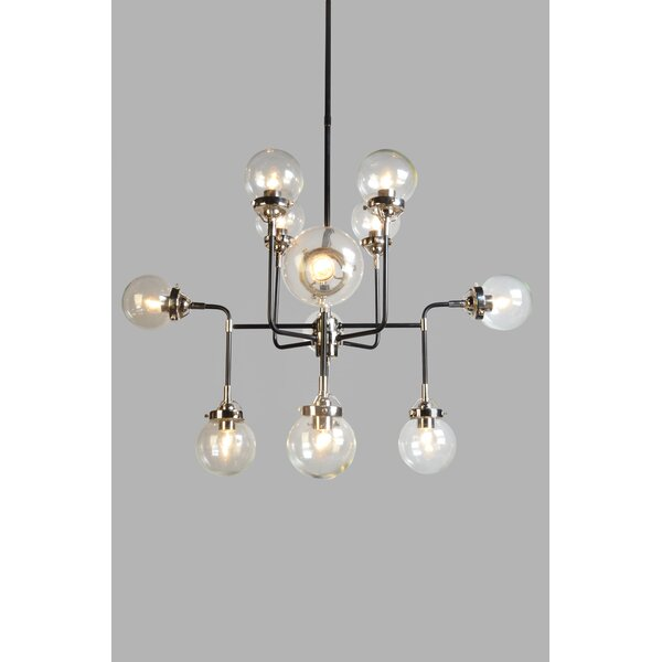 12-Light Chandelier by George Oliver