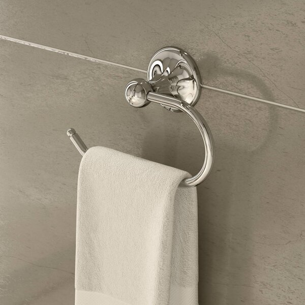 Unity Wall Mounted Towel Ring by Symmons
