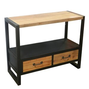 Verma Classy Wooden Console Table by 17 Stor..