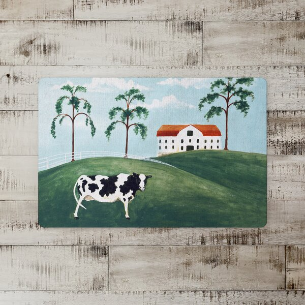 Nance Hello Cow Kitchen Mat
