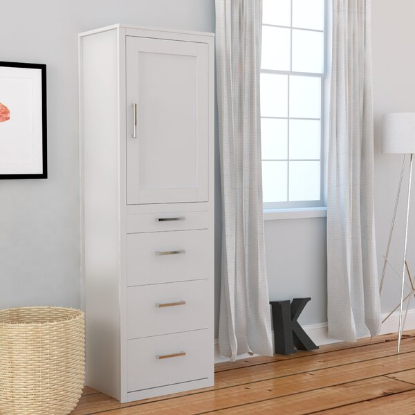 Tova Tower Cabinet Armoire by Red Barrel Studio
