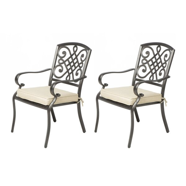 Wrightsville Stacking Patio Dining Chair (Set of 2) by Darby Home Co