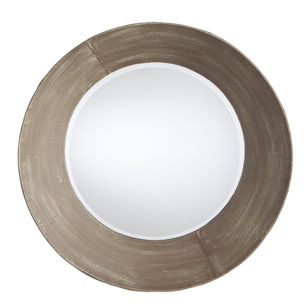 Wushu Round Metal Wall Mirror by Holly & Martin