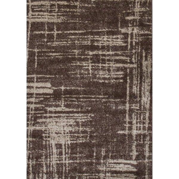 Graze Plain Brown/Beige Area Rug by Samnm Trade
