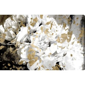 'Petals in the Wind' Painting Print on Wrapped Canvas by Oliver Gal