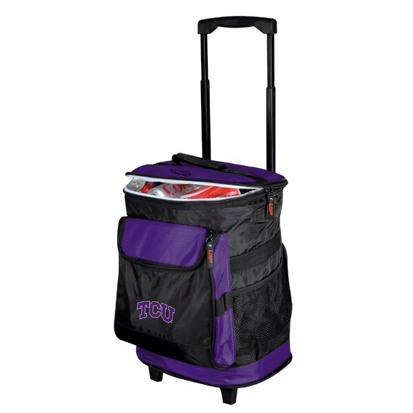 45 Can TCU Rolling Cooler by Logo Brands