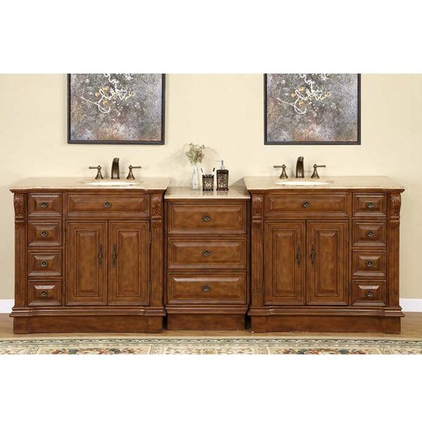 Tomaso 95 Double Bathroom Vanity Set by Astoria Grand
