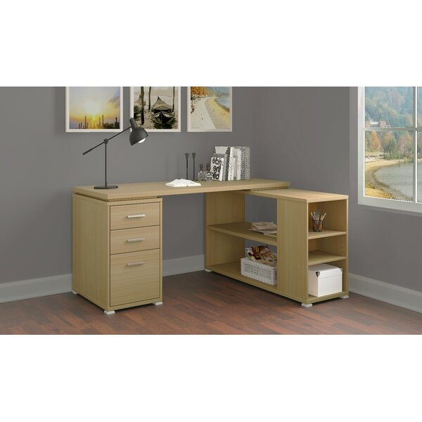 Venango L-Shape Executive Desk by Latitude Run