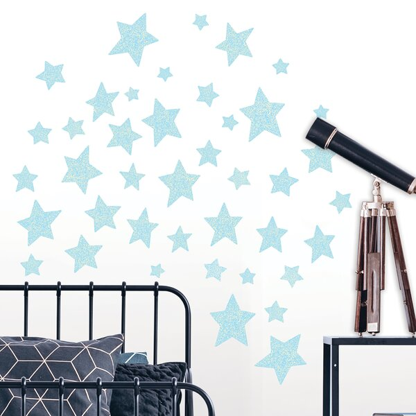 Star Struck Glow in the Dark Wall Decal by Zoomie Kids