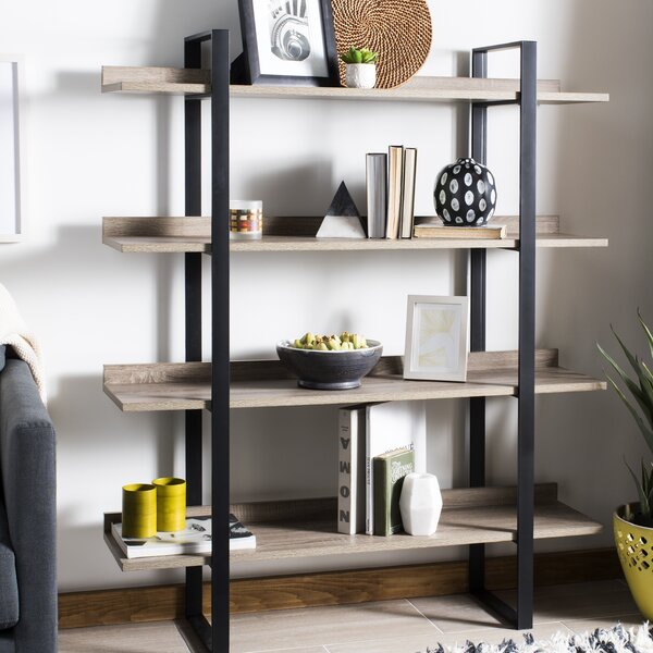 Blonde Etagere Bookcase By 17 Stories