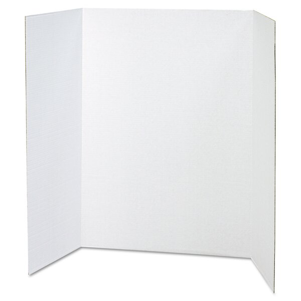 Spotlight Presentation Board, 48 x 36, White by Pacon Corporation