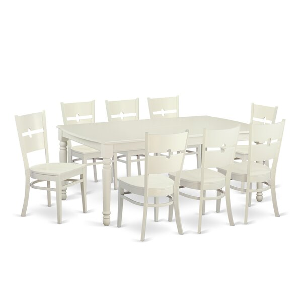 Carmel 9 Piece Dining Set by August Grove