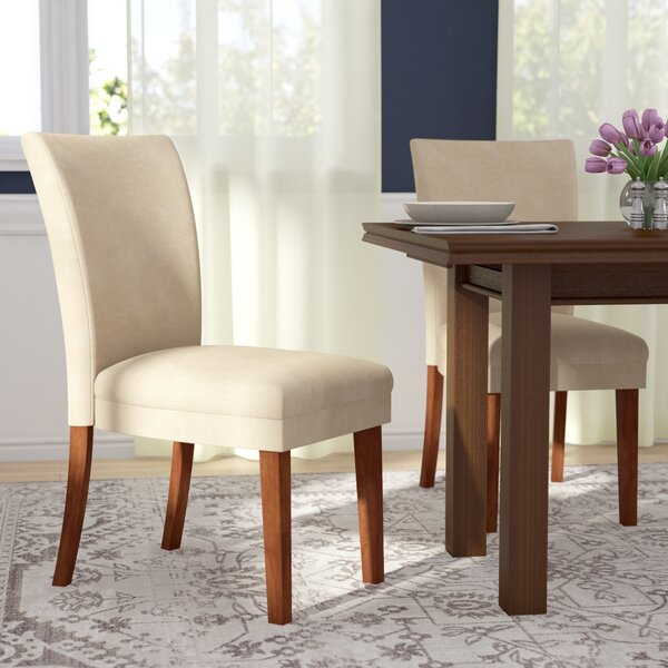 Doerr Parsons Upholstered Dining Chair (Set of 2) by Charlton Home