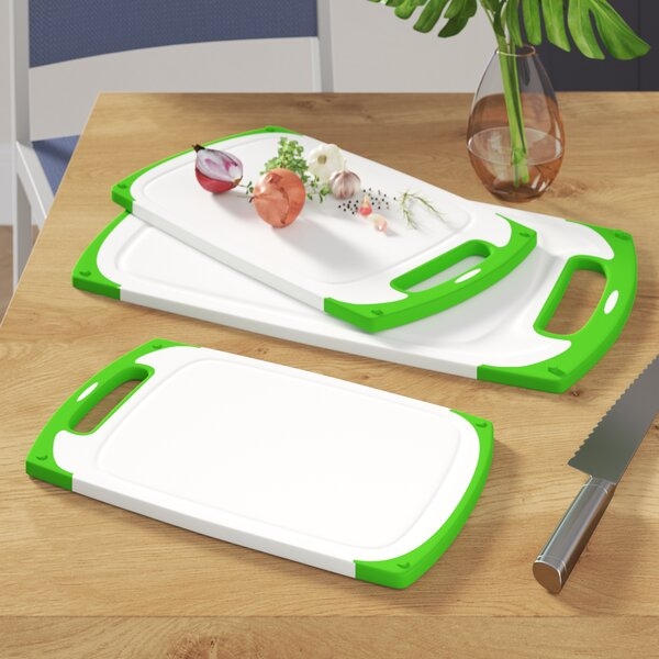 Lilesville 3 Piece Plastic Cutting Board Set by Latitude Run