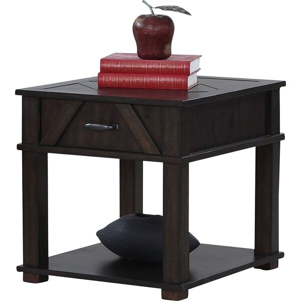 Beacham End Table with Storage by Birch Lane™ Heritage