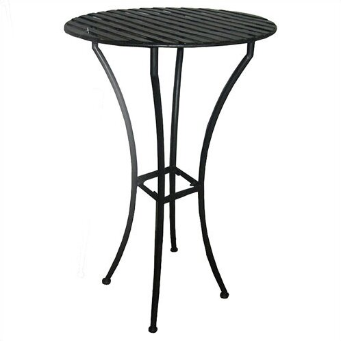 Marc-Antoine Iron Bar Table by 17 Stories