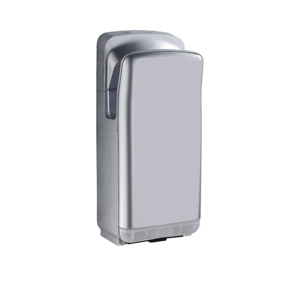 Hands-Free Wall Mount 110 Volt Hand Dryer in Gray by Whitehaus Collection