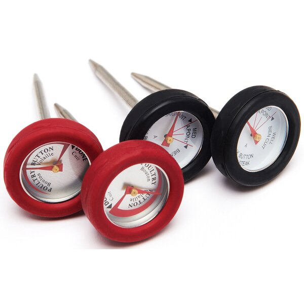 Mini Meat Thermometer (Set of 4) by Broil King