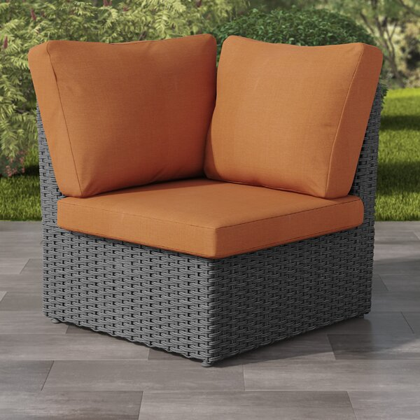 Costanzo Patio Chair with Cushion by Rosecliff Heights