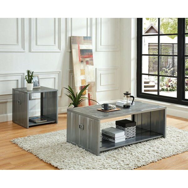 Lang 2 Piece Coffee Table Set by 17 Stories