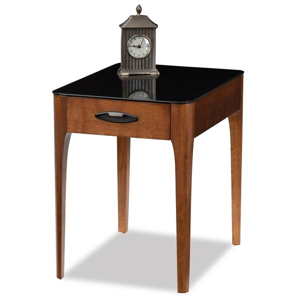 Elliott Bay End Table With Storage By Red Barrel Studio