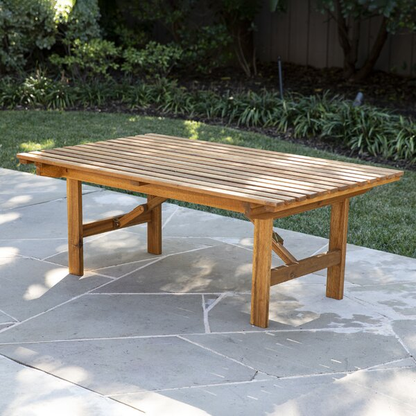 Ballidon Folding Wooden Coffee Table by Highland Dunes