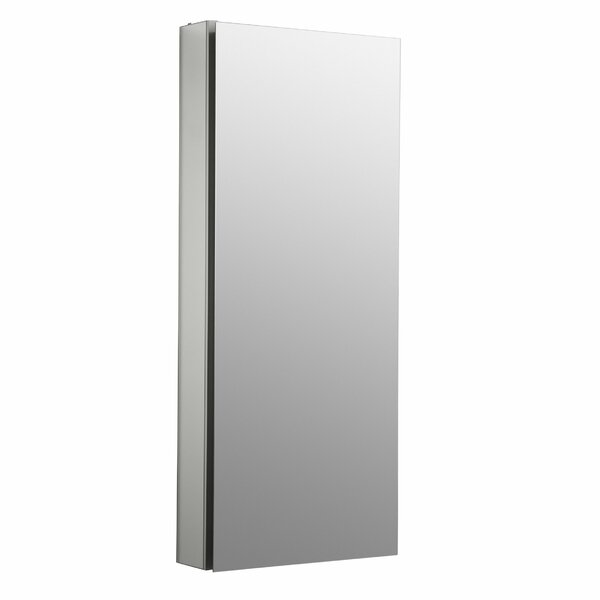 Catalan 15 W x 36 H Aluminum Single-Door Medicine Cabinet with 170 Degree Hinge by Kohler