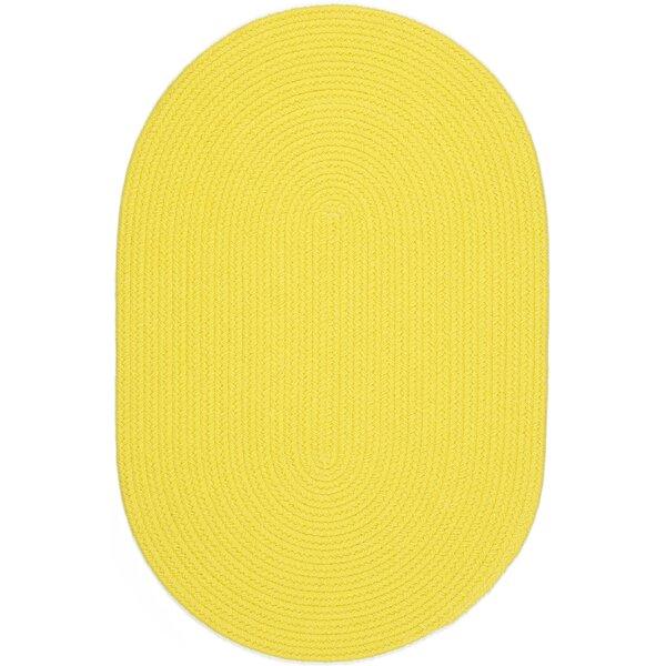 Saiha Yellow Indoor/Outdoor Area Rug by Meridian Rugmakers