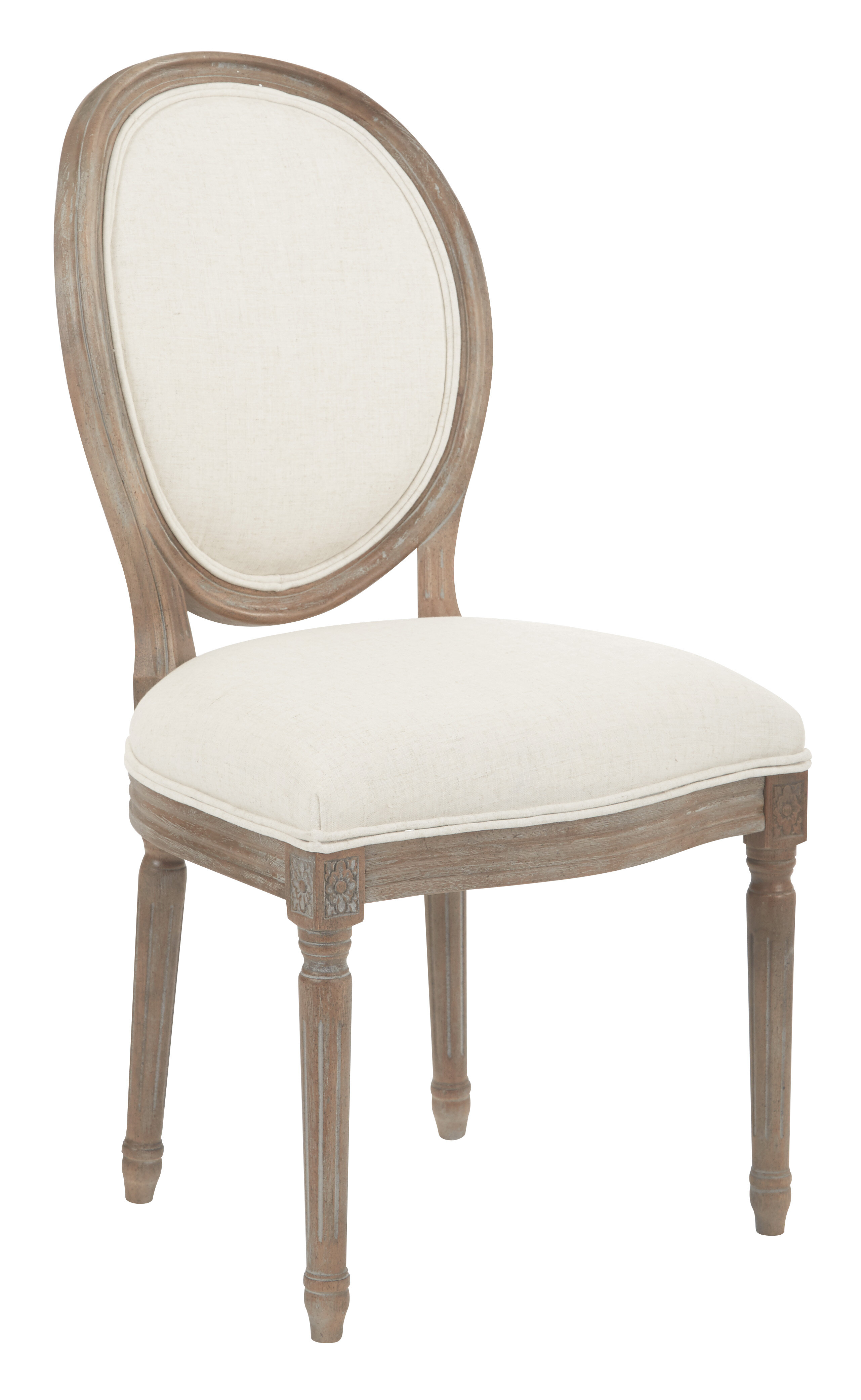 Ave six lilian oval back upholstered dining chair reviews wayfair