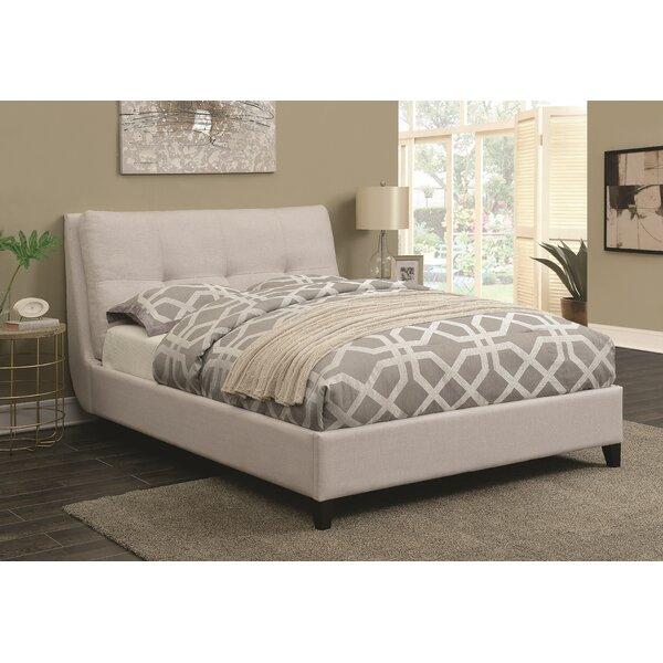 Zeitz Upholstered Platform Bed by Brayden Studio
