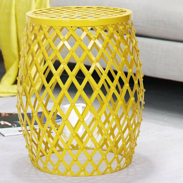 Wire Round Side Table by Homebeez