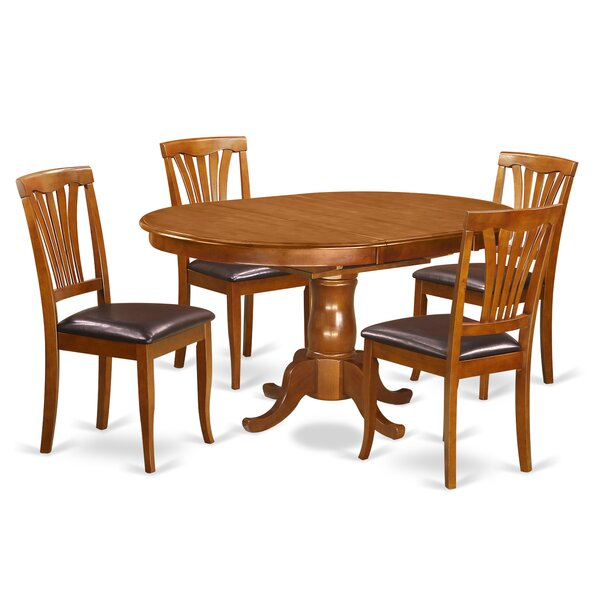 Portland 5 Piece Dining Set By East West Furniture Best