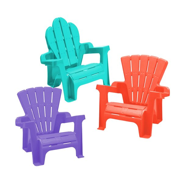 Kriebel Plastic Adirondack Chair Set (Set of 2) by Zoomie Kids
