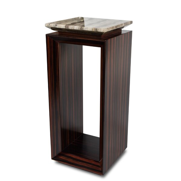 Sergio End Table by Michael Amini