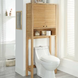 Savings Vivienne 26 W x 65 H Over the Toilet Storage By Highland Dunes