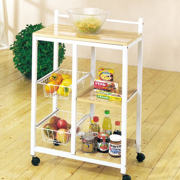 Rupe Kitchen Cart by Ebern Designs