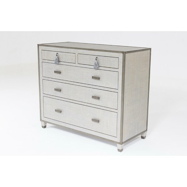 Argento 5 Drawer Accent Chest by Global Views