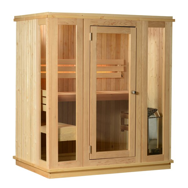 Bluestone 2 Person Traditional Steam Sauna by Almost Heaven Saunas LLC